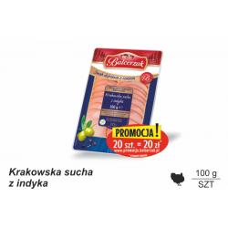 Krakowska sucha z indyka 100g